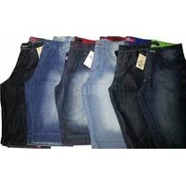 Kit Bermuda Jeans Masculino 5 Unid Preço De Atacado Frete G