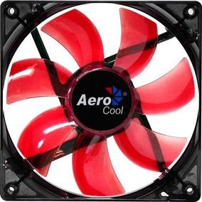 Cooler Fan Lightning 120mm Red Led Aerocool Oficial Envío