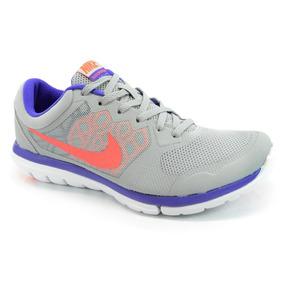 Tênis Nike Wmns Flex 2015 Rn Msl Cinza Roxo - 724987-015