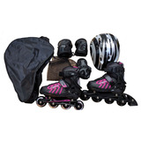 Rollers Profesionales Abec Extensible Accesorios + Bolso