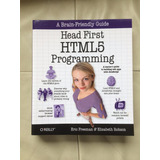Head First Html5 Programming ( Libro En Inglés )