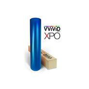 Vvivid Blue Satin Chrome Vinyl Wrap Stretch Conform Diy Fáci