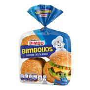 Pan Para Hamburguesa Bimbo Bimbollos 8 Pzas
