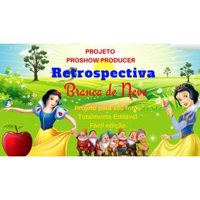 Projeto Proshow Producer Branca De Neve 100fts
