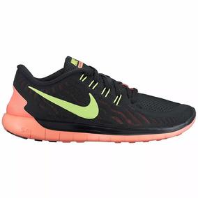 Tenis Nike Free 5.0 Feminino Preto 100% Original-storemarino