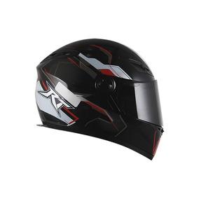 Capacete Moto Race Tech Rt 501 - Vermelho/ Preto - Tam 60