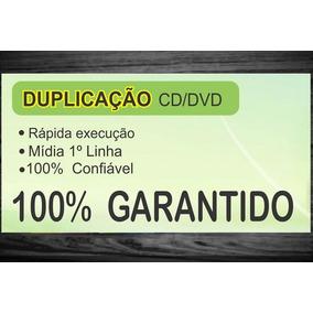 Duplicação Cd/dvd-100 Mídias Personalizadas Frete Grátis