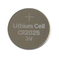 Bateria Cr2025 Unidade 3v Micro Lithium Uso Geral Tipo Moeda
