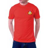 Camiseta Star Trek Jornada Nas Estrelas Engenharia Comando