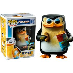 Funko Pop Skipper Cheezy Exclusivo Pingüinos De Madagascar