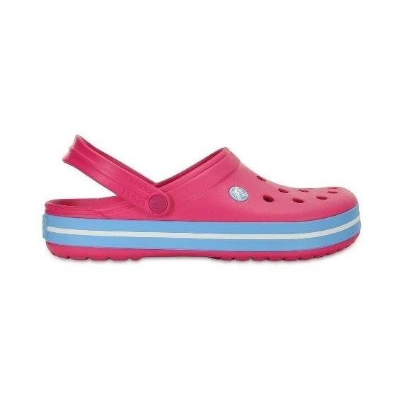 Crocs Originales Crocband 6ef-rosa Mujer Adultos