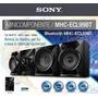 Minicomponente Sony Mhc-ecl99bt 700watts. Garantia Y Envios