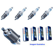 Jogo Vela Bosch Iridium Ford Fusion 2.0 2.3 2.5 Ranger 2.5