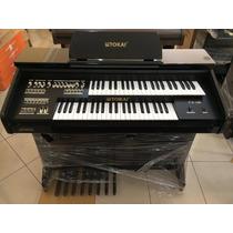 Órgão Eletrônico Tokai - Tk100 Preto Alto Brilho