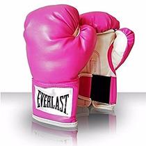 Guantes De Box Everlast - Color Rosa 12 Oz