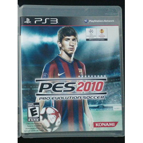 Juego Físico De Ps3 Pro Evolution Soccer 2010