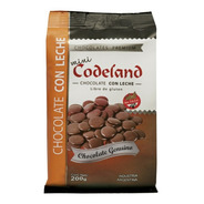 Chocolate Con Leche Mini Codeland X 200 Grs