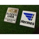 Set 2 Parches Campeon Bundesliga 2011-2012 $22mil*