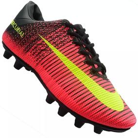 Chuteira Campo Nike Trava Mercurial Envio 24h