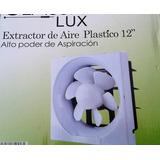 Extractor De Aire Plastico 10 Con Rejilla Alto Poder