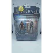 Warcraft Lothar Vs Garona Mini Figure 2 Pack