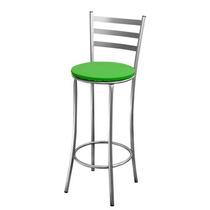 Banco Banqueta Cadeira De Bar Em Aço - Conforto