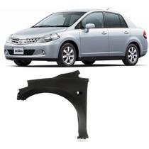 Paralama Esquerdo Nissan Tiida 2007 2008 2009 2010 2011 2012