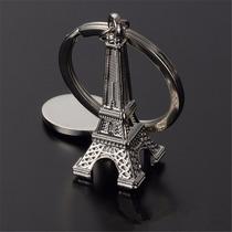 Llavero En Forma De Torre Eiffel Plateado