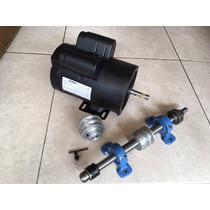 Kit Motor 3hp + Cabezal + Polea P/ Trompo Router Moldurador