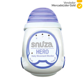 Monitor De Apnea Snuza Hero Bebes Mama Seguridad Monitoreo