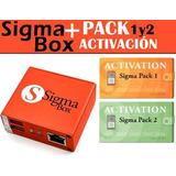 Sigma Box + Cables Y Pack 1/2 Activados - Repara Imei Libera