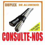 Cabo De Aluminio Monofasico 2x 35mm Por Metro Consulte-nos