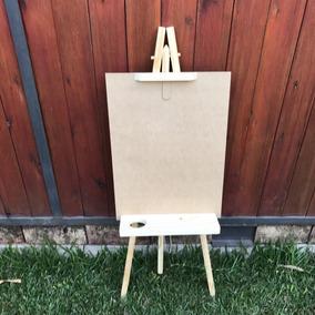 Atril Simple Crudo Madera Niños Artistica Atriles Pintar