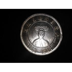 Moneda Con Baño De Plata 1861-1908 Coleccionistas China