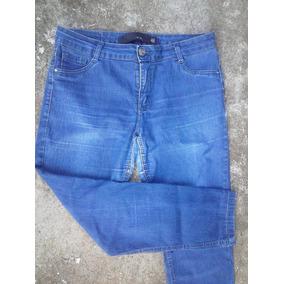Calça Jeans;feminina, For Guirls,46, Lycra ,leve Desbotada