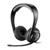 Fone De Ouvido Tipo Headphone Com Microfone Para Pc, Mac, Ps