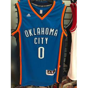 Jersey Oklahoma City Westbrook Nba Envio Gratis