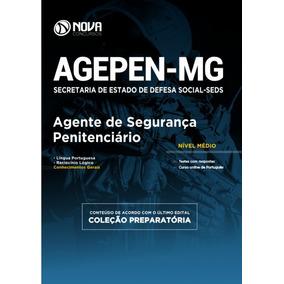 Apostila Agente Penitenciário - Agepen Mg 2017 Frete Grátis