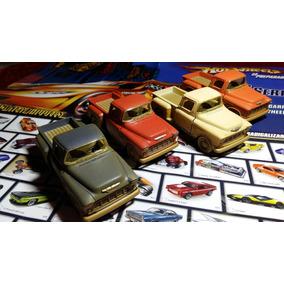 Miniaturas Die Cast Caminhonetes Antigas Customizadas