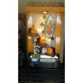 Fuente Decorativa De Pared Con Piedra Mediana