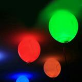 Globos Led X 5 Unidades Para Cumpleaños Y Fiestas Infantiles