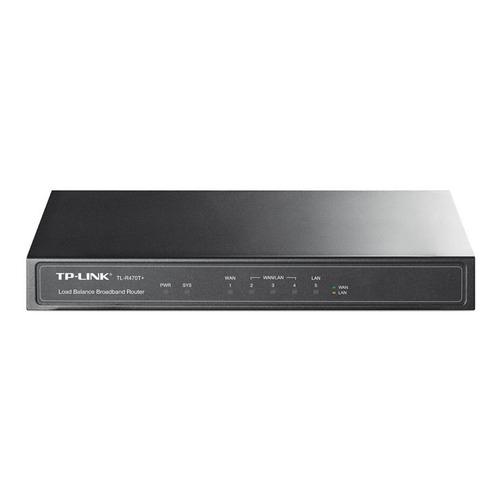 Router TP-Link TL-R470T+ negro 110V/220V