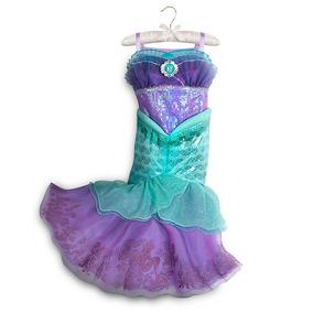 Vestido Disfraz La Sirenita 100% Original Disney Store!
