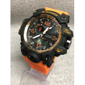 1f5772bf538 Relogio G Shock Gwa1100 Laranja - Relógios De Pulso no Mercado Livre ...