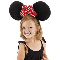 Disfraz Las Orejas De Gran Tamaño Minnie Mouse De Disney Po