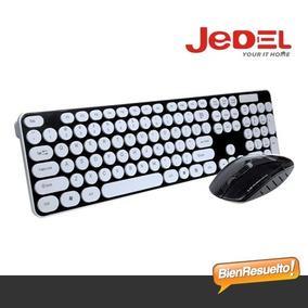 Combo Teclado + Mouse Inalámbricos Jedel En Español