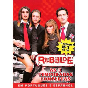 Rebelde 1ª A 3ª Temporadas Completas 18 Dvds + Frete Grátis