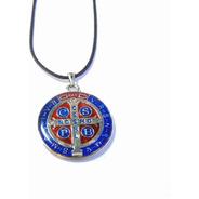 Cordão Medalha De São Bento - Grande