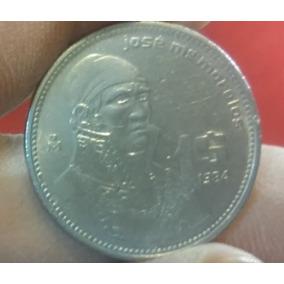 Moneda De Peso (metal) De José María Morelos Y Pavón 1986