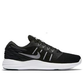 Tenis Nike Lunarstelos Negro Mujer Originales